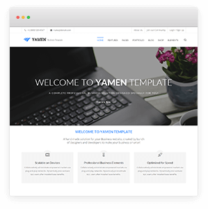 Yamen responsive business html template revolution slider home 01 yamen responsive business html template flashek Choice Image